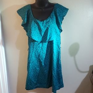 dress w/ loops for belt & cute button down back
